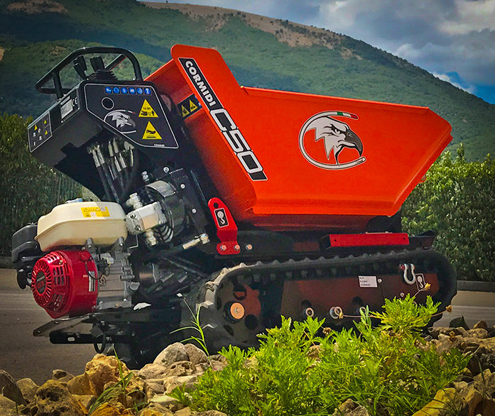 Cormidi C50 Diesel Tracked Dumper