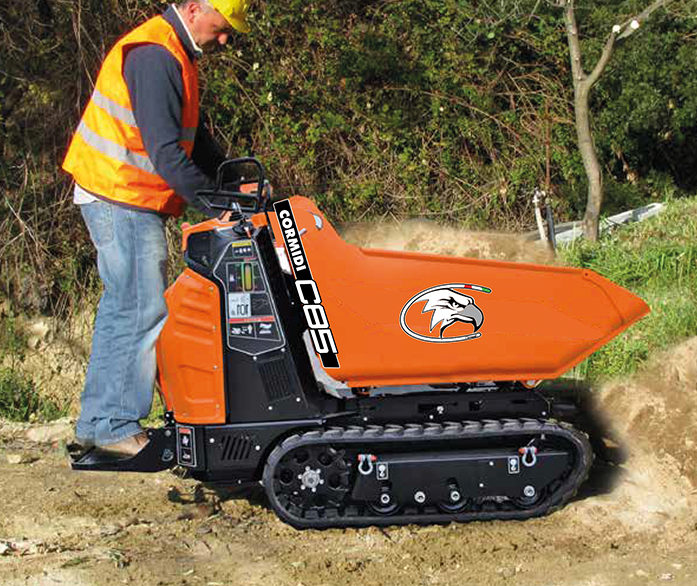 Cormidi C85 Electric Tracked Dumper