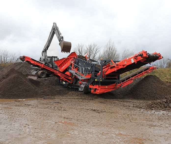 TEREX FINLAY 873 SPALECK