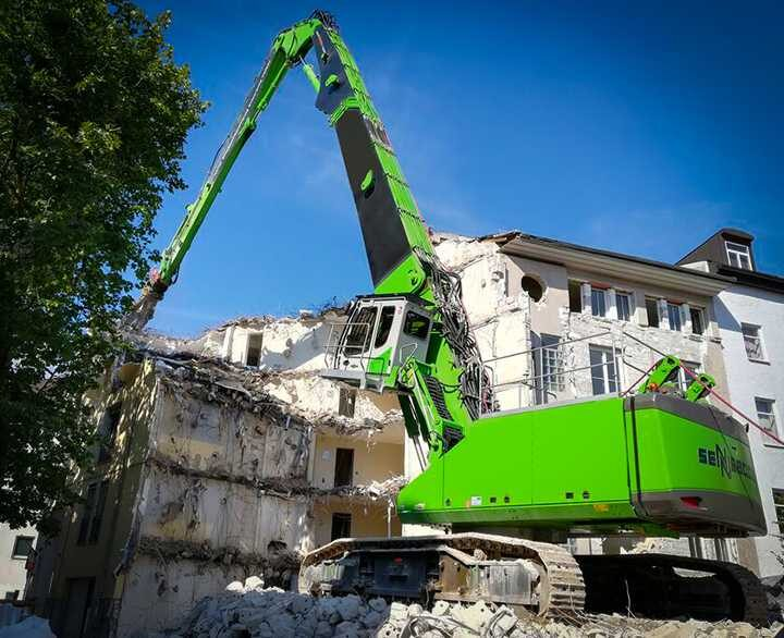 Sennebogen 870E Demolition