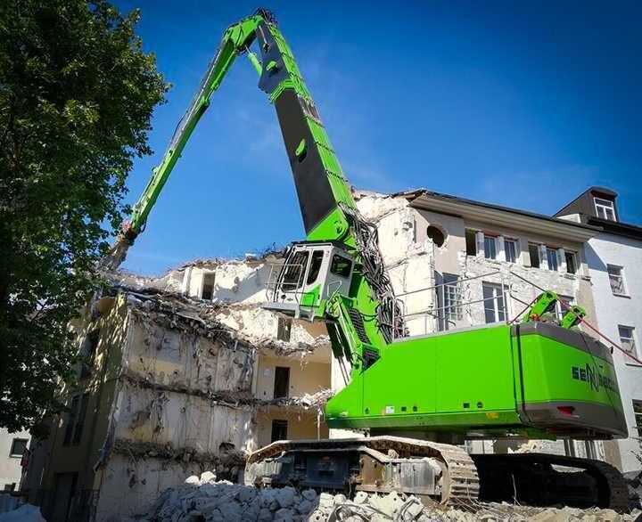 Sennebogen 870E Demolition