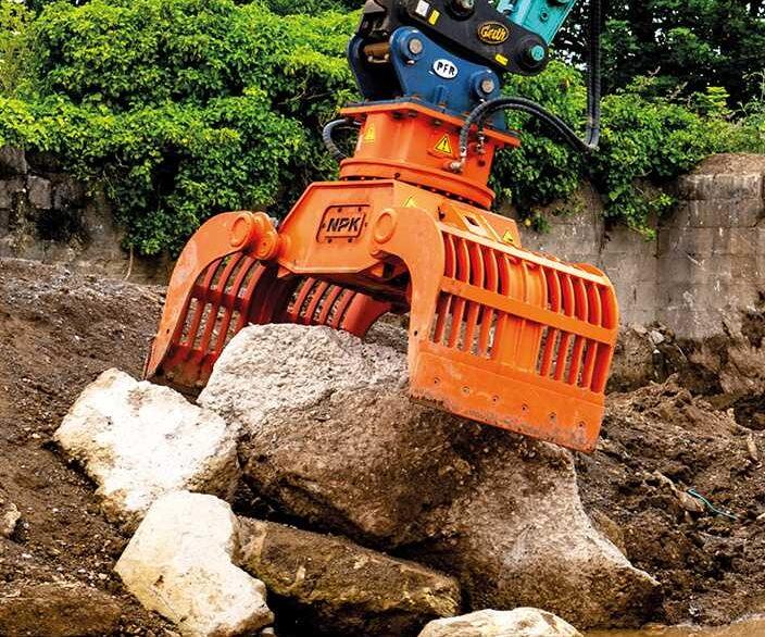 NPK Demolition Grabs