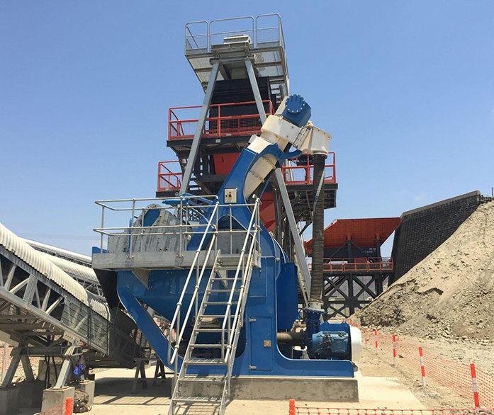 CDE EvoWash Sand Classification & Dewatering System