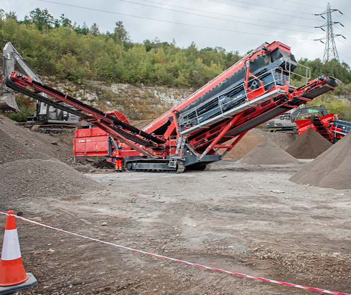 Terex Finlay 693+ SPALECK