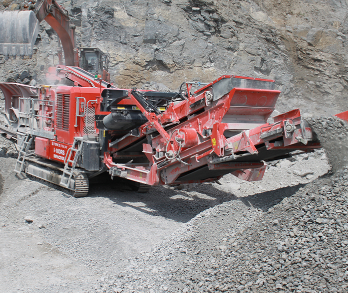 Terex Finlay I-100 RS