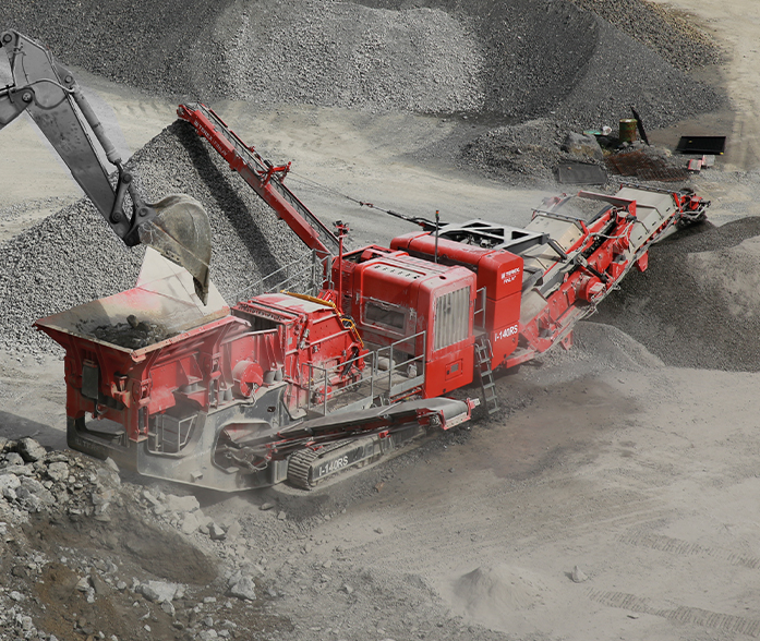 Terex Finlay I-140 RS