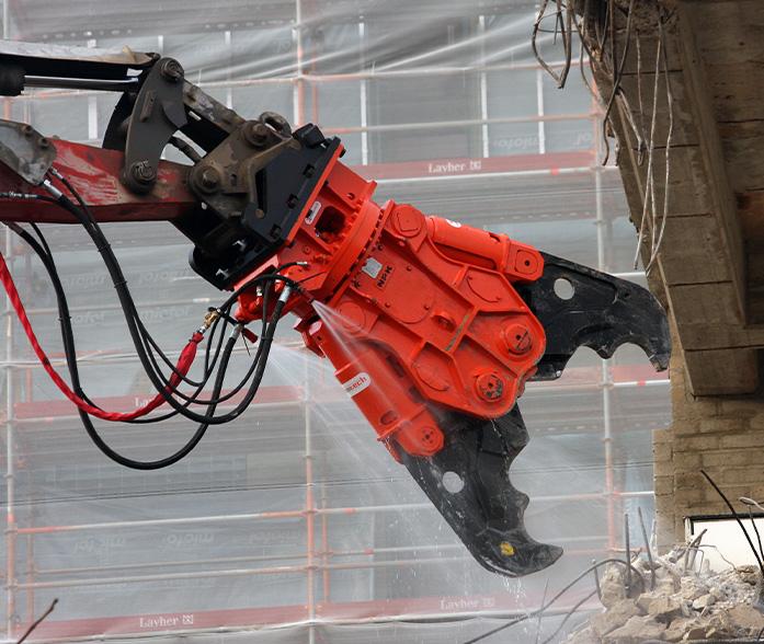 NPK Concrete Crushers