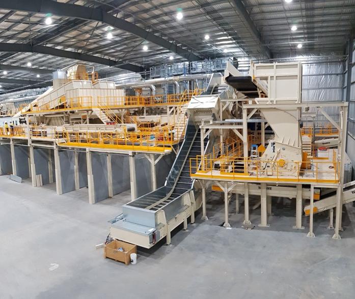 Turmec RDF / SRF Recycling Plant