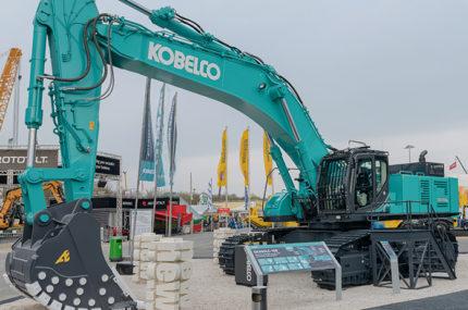 New Kobelco SK850LC-10E