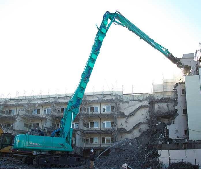 Kobelco SK550DLC-10 Demolition Excavator