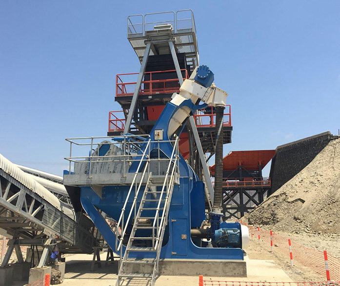 CDE EvoWash Sand Classification & Dewatering System