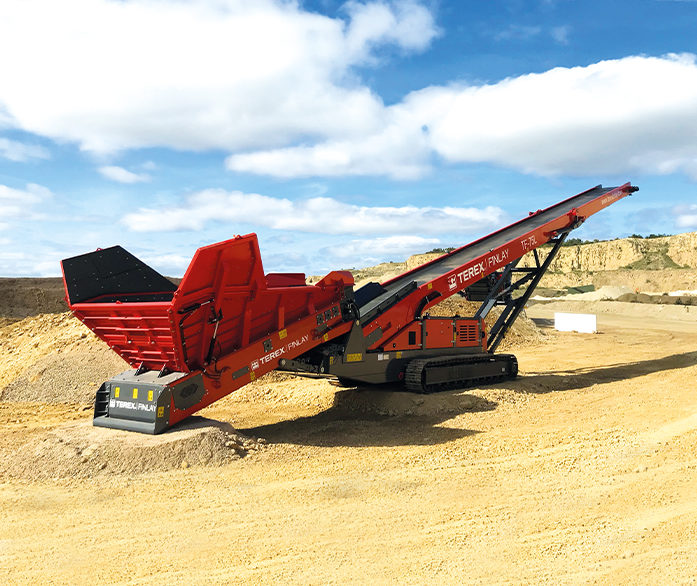 Terex Finlay TF-75L (Low Level)