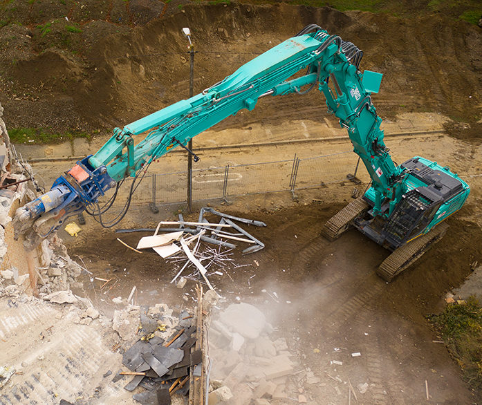 Kobelco SK400DLC-10 Demolition Excavator