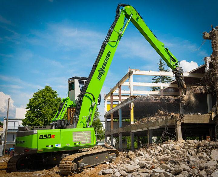 Sennebogen 830E Demolition