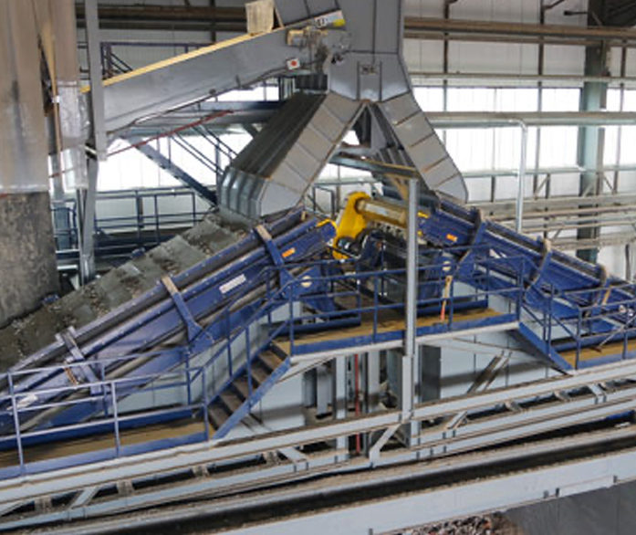 Turmec FINES CLEAN UP Recycling Plant