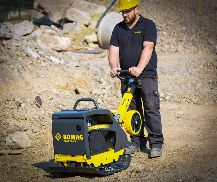 Bomag Reversible Plates