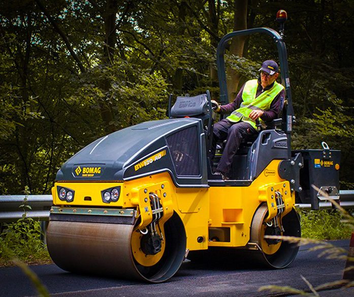 Bomag Articulated Tandem Rollers