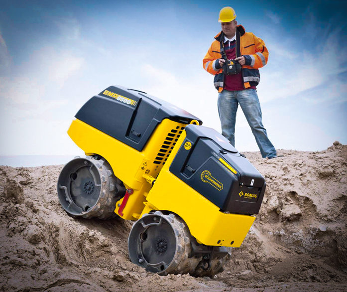 Bomag Trench Roller