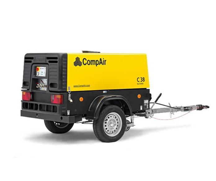 CompAir Portable Compressor 7 - 10 bar