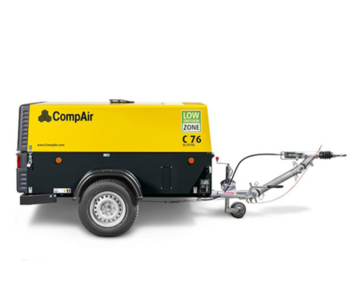 CompAir Mobile Compressor 7 - 14 bar