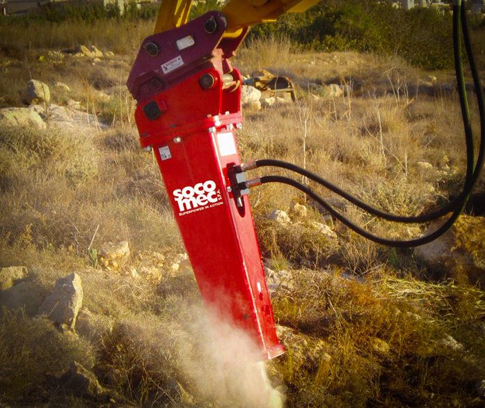 Socomec Hydraulic Hammers
