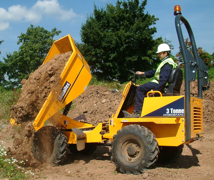 Thwaites 3t Power Swivel Dumper